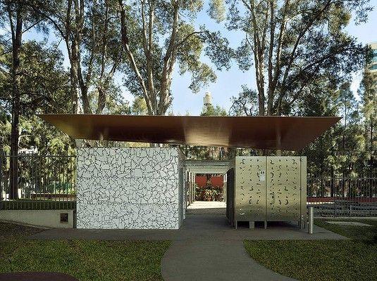Bourke Street Toilets in Woolloomooloo, by Chris Elliott Architects.
