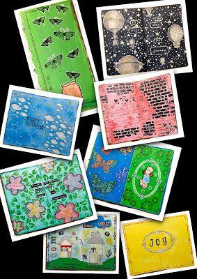 Papierowy Skrawek: Art journal