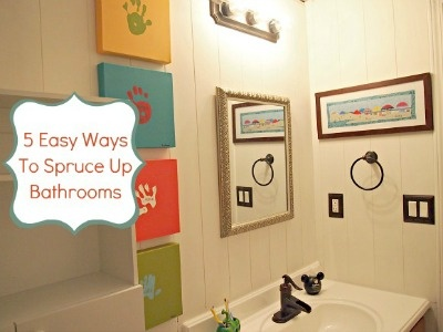 5 easy ways to spruce up your bathroom cgc cleanhands