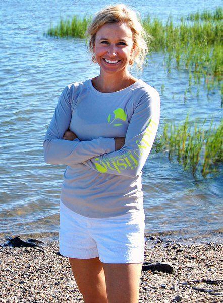 NEW! Ladyfish UPF long sleeve shirt - Yellow Tail $30