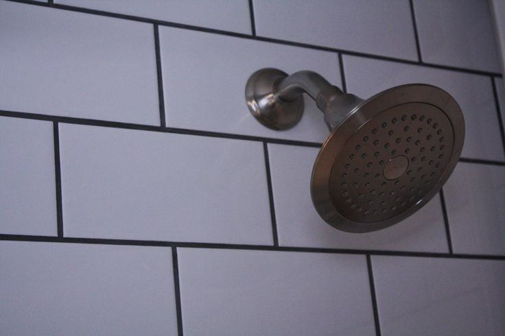 Dark Grout With Subway Tile Oversized Subway Tile