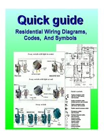 39 pages with many diagrams and illustrations. A step by step home wiring guide with diagrams, symbols, and electrical codes.