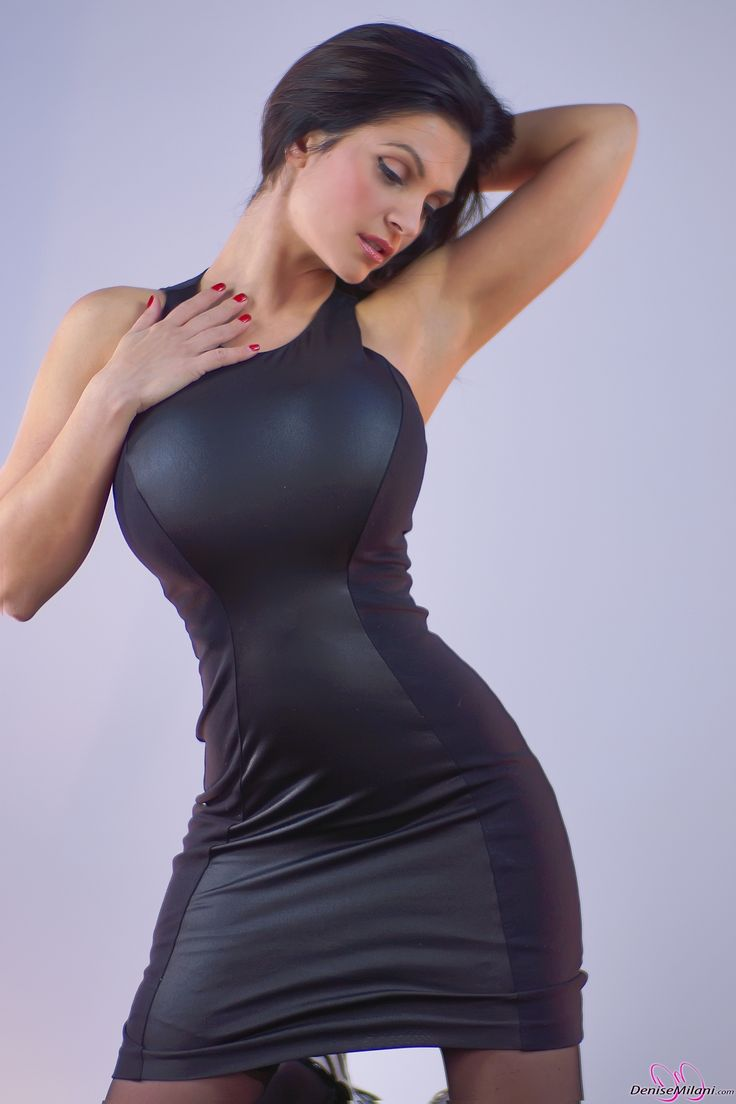 denise milani in a dress - photo #4