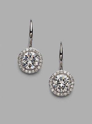 3ab840494 Pandora Elegant Beauty Drop Earrings Dangle Earrings Men | Earrings ...