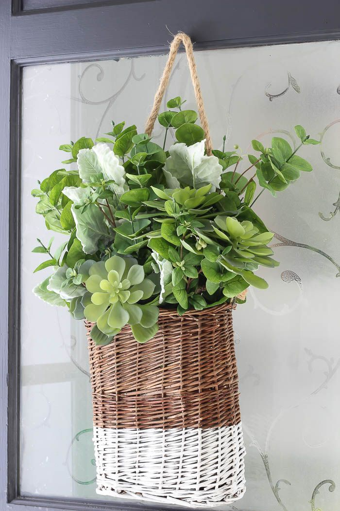 Spring DIY Hanging Basket | Rooms FOR Rent Blog