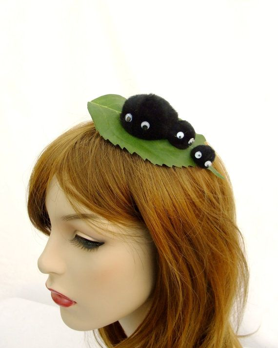 Soot Sprite Hair Clip Totoro Cosplay Hair Clip by RuthNoreDesigns