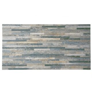 SomerTile 12.5x24.5-inch Muro Ariana Gris Porcelain Wall Tile (Case of 5) | Overstock.com Shopping - The Best Deals on Wall Tiles