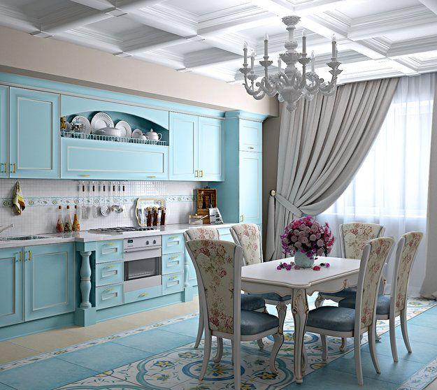 Кухня в стиле прованс: 70 фото идей дизайна интерьера большой и маленькой кухни