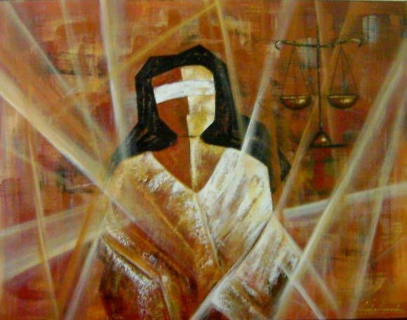 Quadro Deusa Justiça 70x90 cod 615 | KATIA ALMEIDA - PINTURAS EM TELAS | 338B3D - Elo7: Pintura Também, Ems Telas, Pinturas Legais, Pinturas Ems, Painting Ems