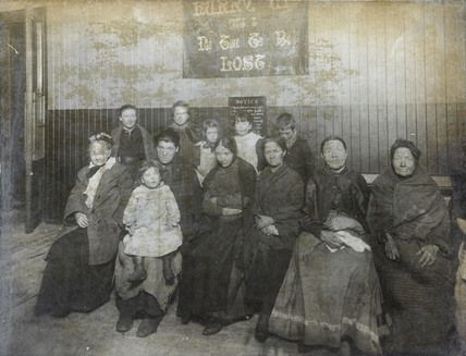 Salvation Army women's night refuge: c.1890. Possibly Hanbury Street?