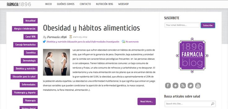 Blog | Farmacia 1896