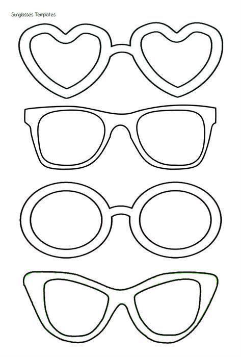 Sunglasses Templates: