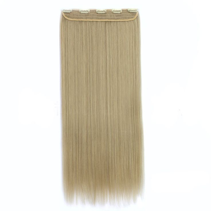 70cm 140g Invisible Hair Extension 5 Cards Wig 16/613