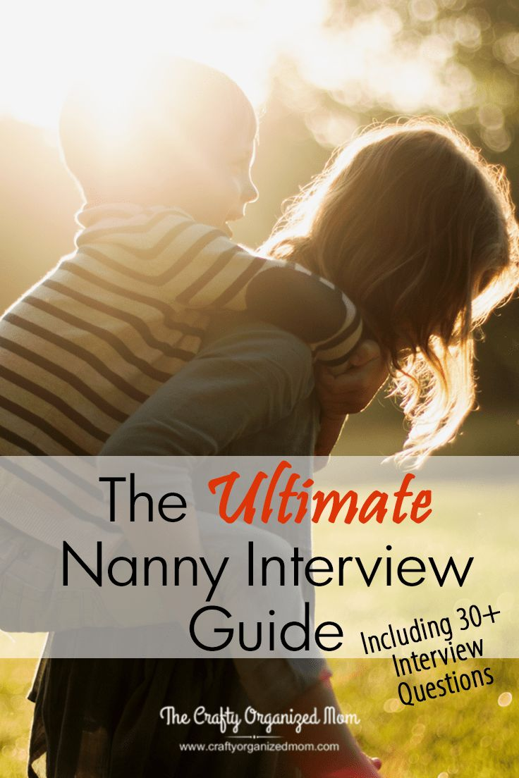 Interviewing a Nanny can be a daunting