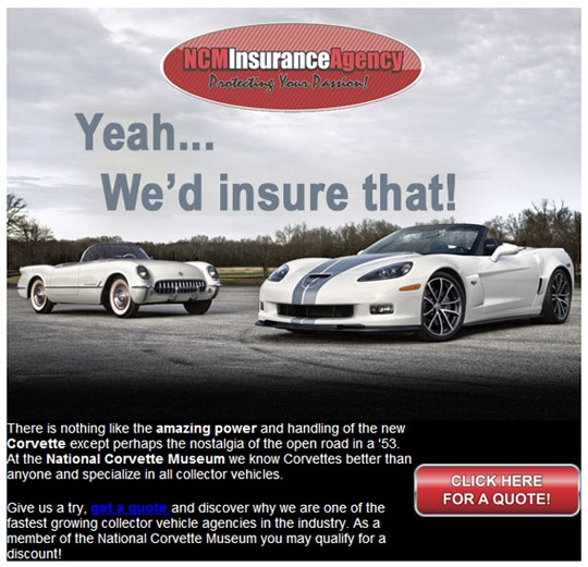Countrywide Insurance Free Quote: 39 Best Images About Corvettes In Advertising On Pinterest