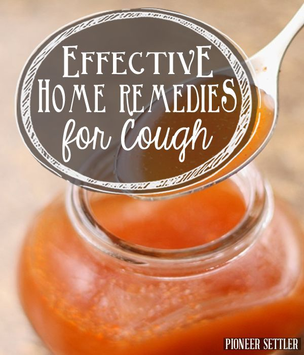 Effective Home Remedies for a Cough | Herbal Remedies and Recipes | How to Make Your Own Herbal Remedies, DIY Herbal Recipes at pioneersettler.com|#pioneersettler | #homesteading | #selfreliance