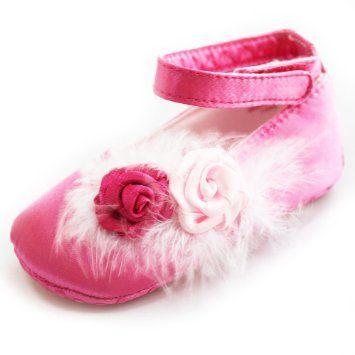 Koleksi Sepatu Bayi - Lembut Bayi Balita Sole Gadis Princess Rose Flower Red Dress Sandal Sepatu X33z | Pusat Sepatu Bayi Terbesar dan Terlengkap Se indonesia