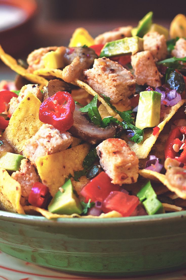 Check out this recipe for Quorn Vegan Nachos using Quorn Vegan Pieces - a great dish to share as a starter or as a main meal, prepare to get messy!