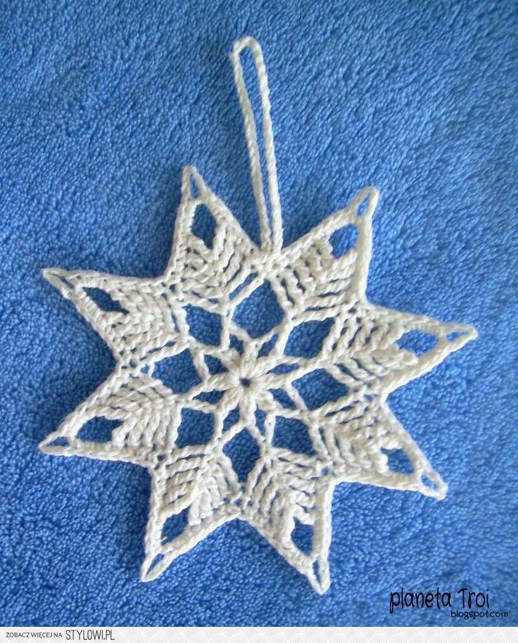 Fensterdeko häkeln weihnachten  786 besten schneeflocke häkeln Bilder auf Pinterest | Häkeln ...