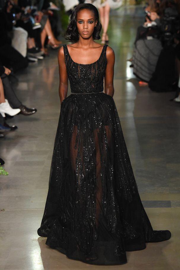 Look 44 Elie Saab Haute Couture Printemps-été 2015 © Style.com