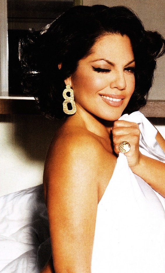 Sara Ramirez. Such a talented beauty; star studded voice and strong acting skills - this girls got it going on.