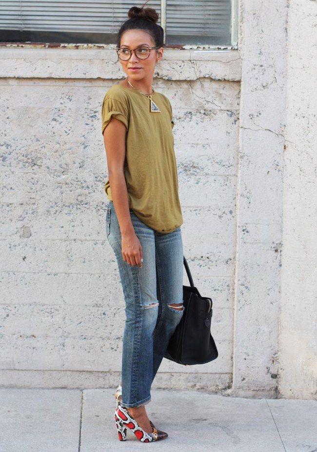 125 besten jeans kombinieren outfit ideen mit jeans bilder auf pinterest jeans kombinieren. Black Bedroom Furniture Sets. Home Design Ideas