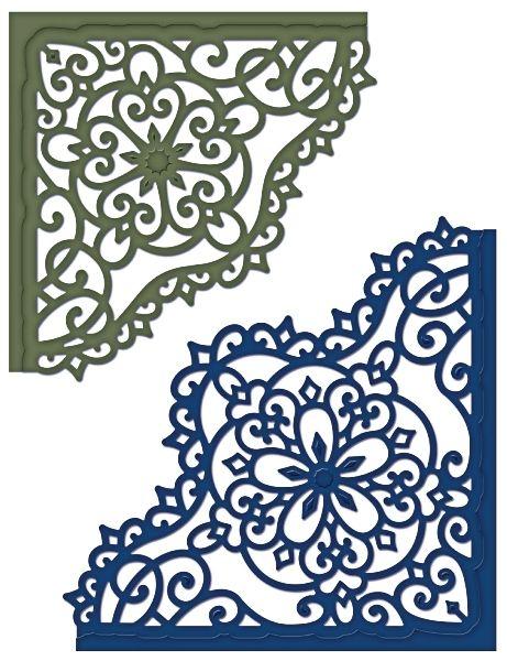 Heartfelt Creations | Decorative Blossom Corner Die