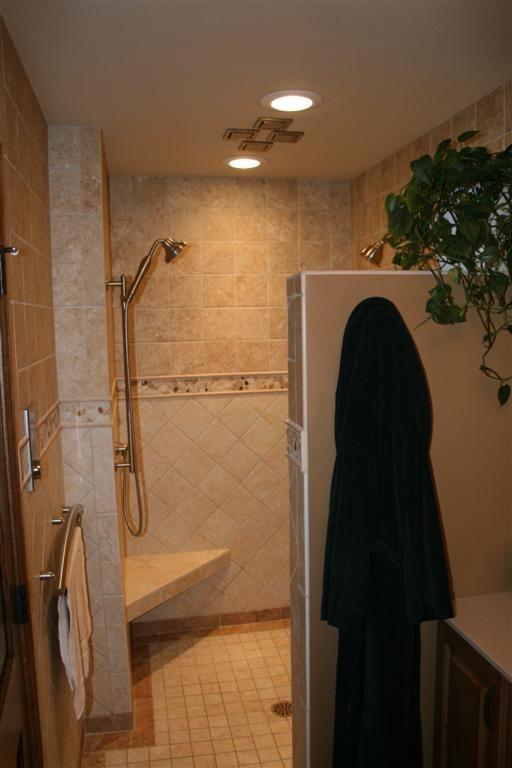 Bathroom Remodel Ideas Walk In Shower 36 best doorless shower images on pinterest | bathroom ideas