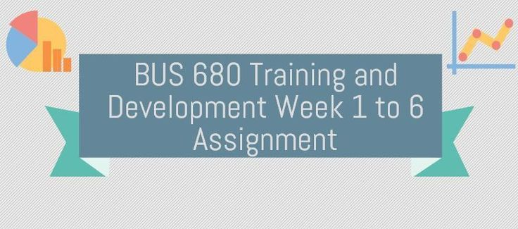 BUS 680 Training and DevelopmentBUS 681 Week 1 Assignment, Journal Article Research and AnalysisUsing a variety of research techniques, write a 3-5 page essay that summarizes the impact and affect of compensation within an organization. This essay should be based on research obtained through a min