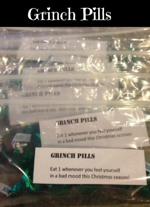 How the Grinch Stole Christmas Party - How to make grinch pills