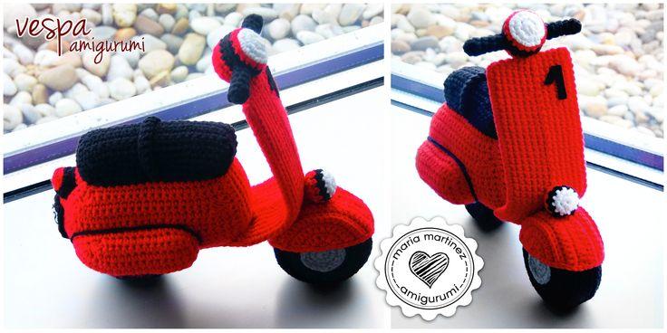 Vespa Amigurumi Schema Gratis : 17 beste afbeeldingen over free crochet sneakers pattern ...