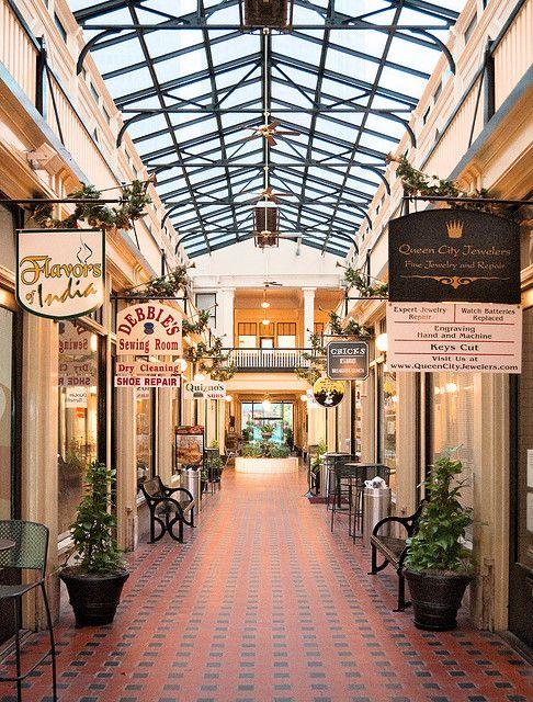 Latta Arcade 1915 316 South Tryon Street Charlotte North Carolina