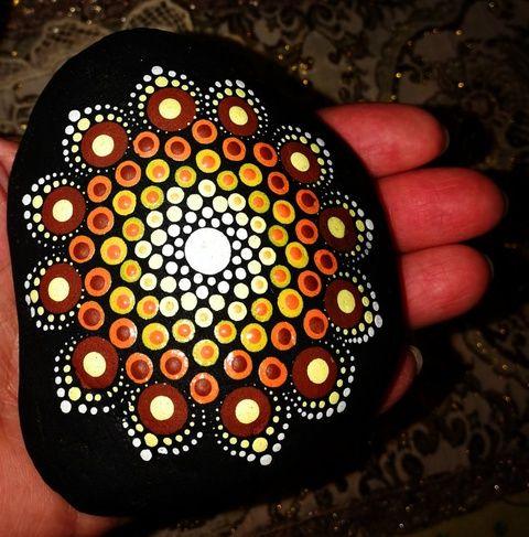 Mandala csoki (aPiros) - Meska.hu
