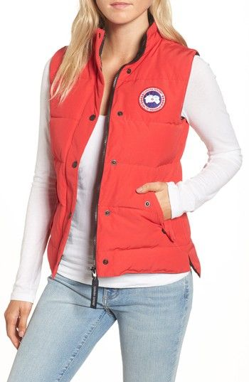 Free shipping and returns on Canada Goose 'Freestyle' Slim Fit Down Vest (Online Only) at Nordstrom.com. A well-insulated vest is designed with a durable shell and cut for a classic fit that layers easily and stands the test of time.