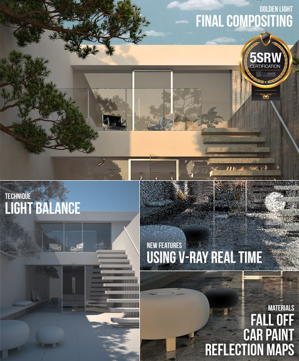 78 images about sketchup vray on pinterest openness - Vray realistic render settings exterior ...