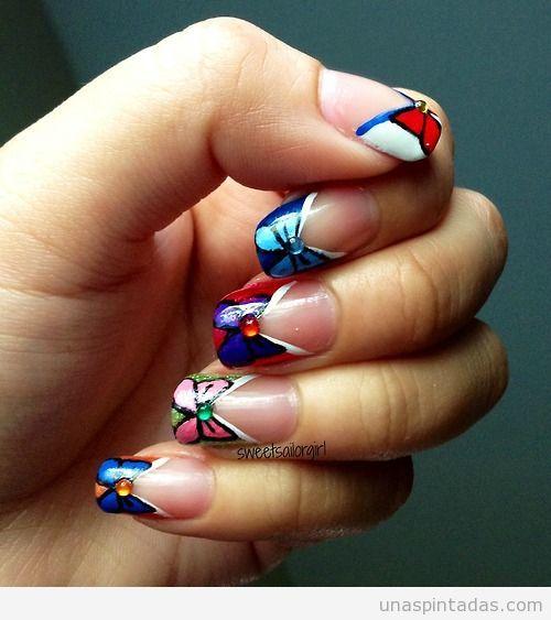 Diseño de uñas Sailor Moon 2