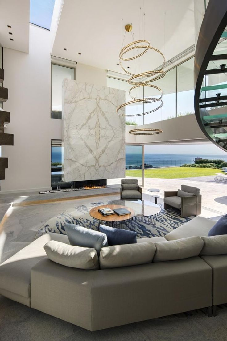 Lion's View – A Cape Town House Luxurious Living Room Design