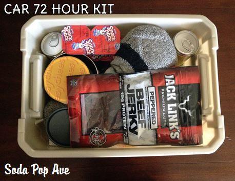 Car 72 Hour Kit