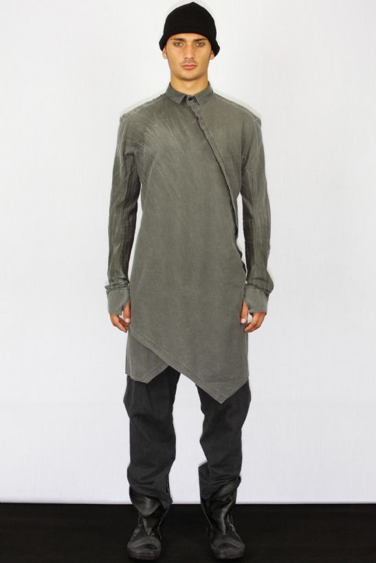 Visions of the Future | Shirt-Boris Bidjan Saberi | Fashion | Menswear | Pattern | Drape | Knit