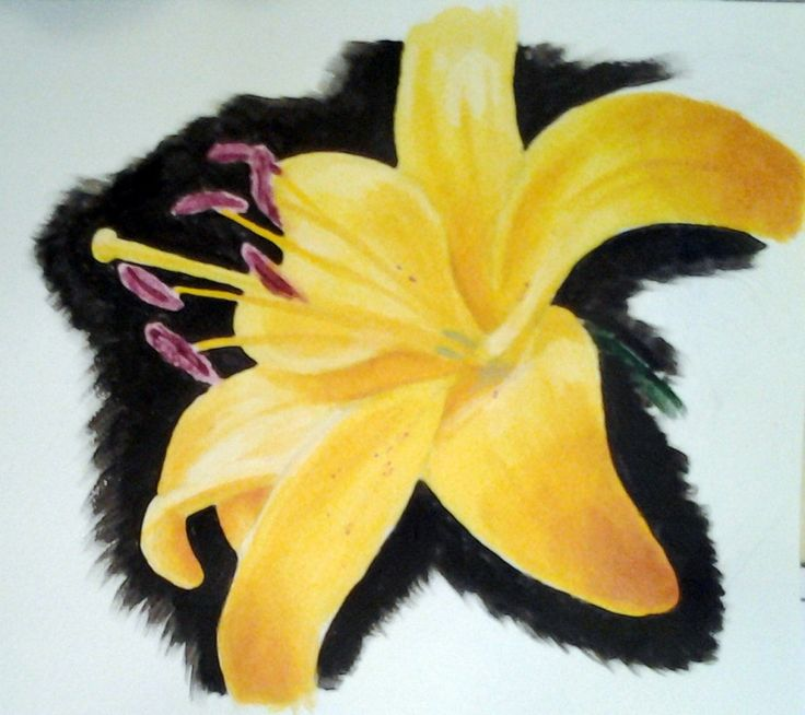 Festett virág