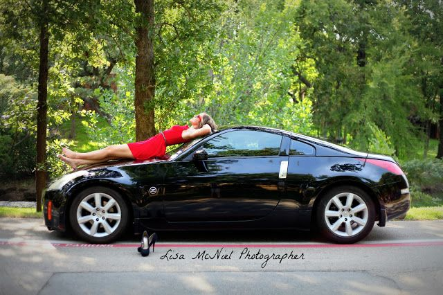 click the pic for photography inspiration with a car, Senior pictures, gorgeous girl, beautiful, red, posing, different, Dallas, north Texas