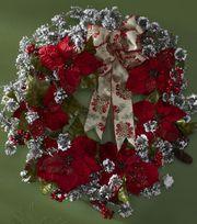 Poinsetta Wreath