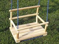 Návod na výrobu dřevěné houpačky - ani to není tak komplikované :-)