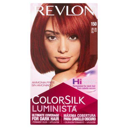 Revlon® Colorsilk Luminista™ Permanent Liquid Hair Color, Red