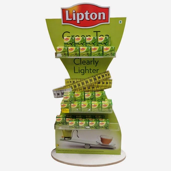 POP-professor: Lipton Green Tea Display