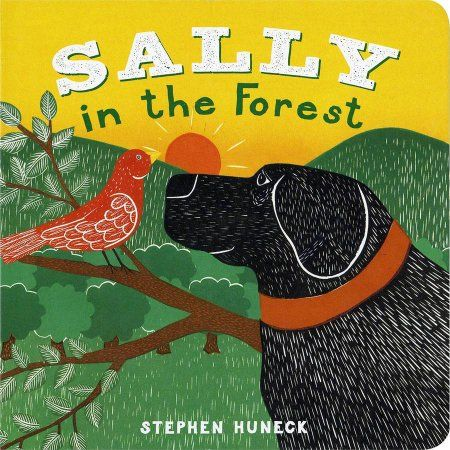 Abrams Books Sally In The Forest, Multicolor