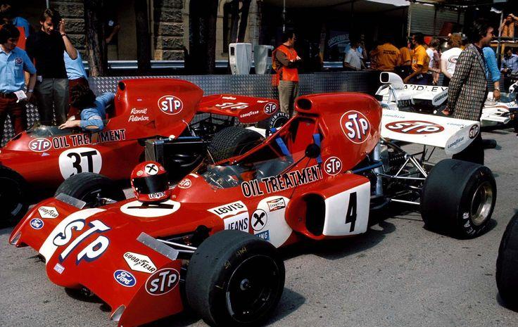 1972 March 721X - Ford (Niki Lauda)