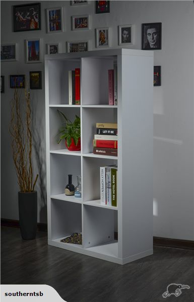 $180 delivered CUBE EXPEDIT STYLE Bookcase / Bookshelves WH | Trade Me 150 x 35 x 78.5