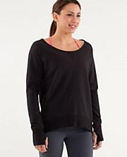 Looks comfy too.: Exercise Wear, Yoga Clothing, Lululemon Closet, Clothing Summer, Pullover Black, Meditation Pullover, Lululemon Athletica, Fit Motivation, Dreams Wardrobes