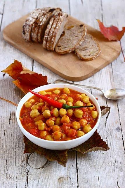 Zuppa piccantina di ceci e curry MIELERICOTTA